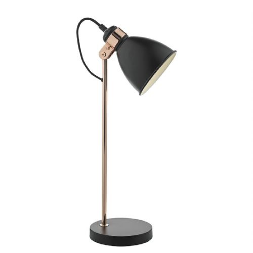 Frederick Table Lamp Black/ Copper